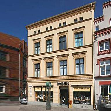 Juweliergeschäft in Stralsund